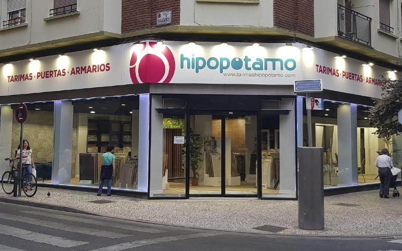 tienda hipopotamo