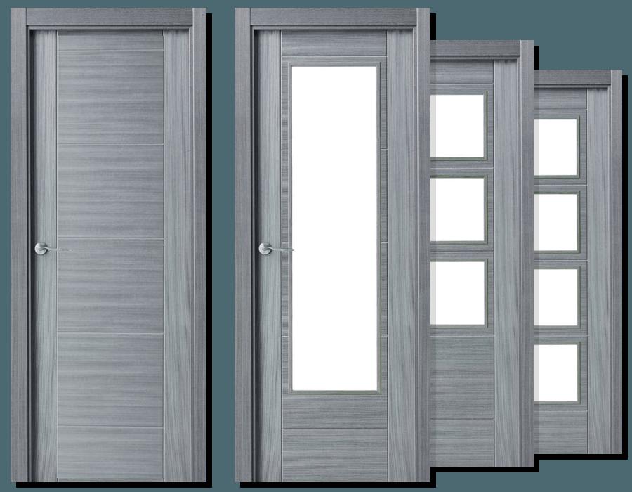 puerta ciega o vidriera