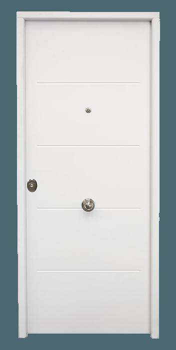 puerta entrada lacada