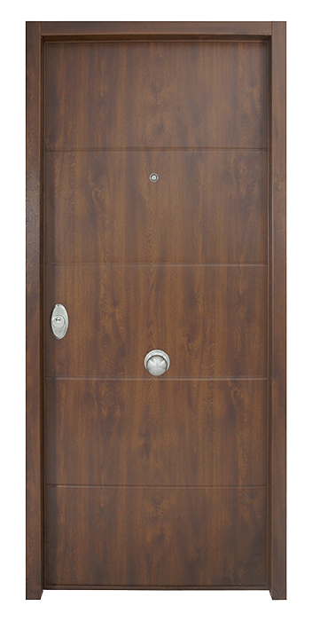 puerta entrada laminada