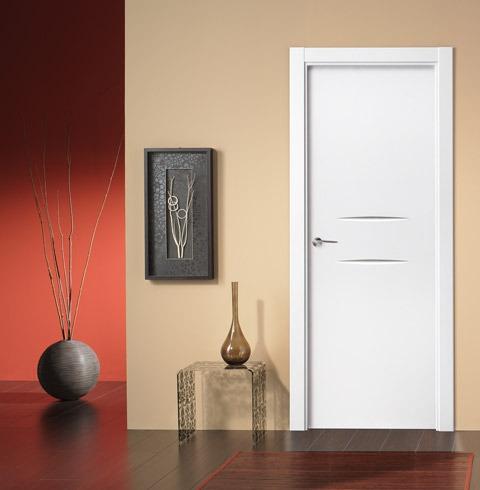 Puerta interior lacada de estilo moderno