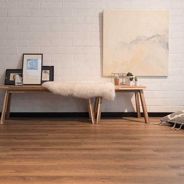 suelo de vinilo rustico dormitorio