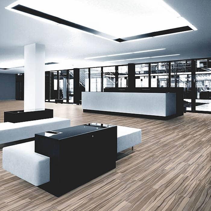 suelo vinilico contemporaneo oficinas