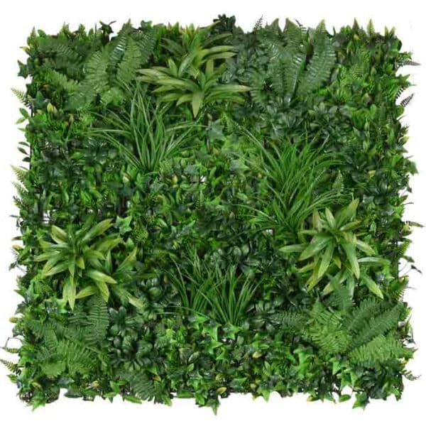 jardín vertical plantas salvajes