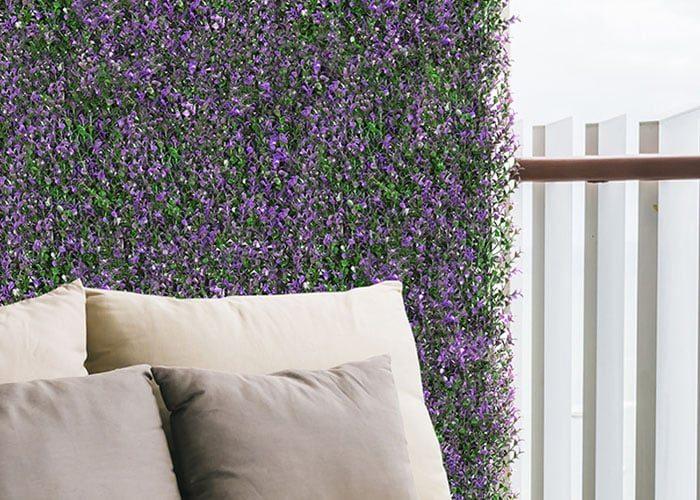 jardín vertical hierbas aromaticas