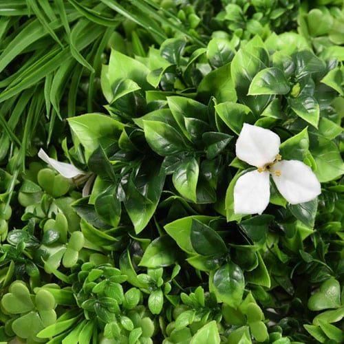 jardín vertical tropical